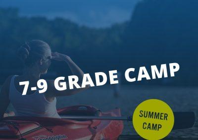 7-9 Grade Camp