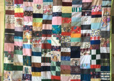 Christ Lutheran – Slayton MN, Strawberry Mountain, Pieced & tied, 60x77 Multi colored