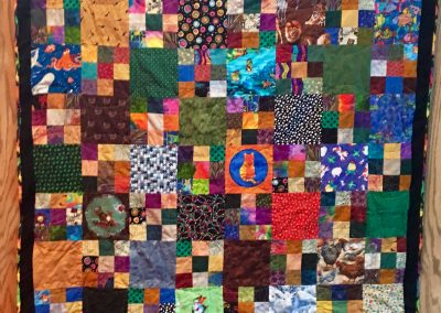I Spy – 64x52 – Pieced & Machine Quilted – Multi colors – Made by Connie Anderson – Tracy, MN