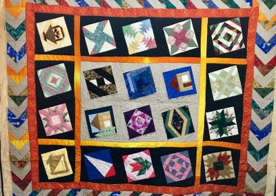 Potpourri – 75x87 – Pieced & Machine Quilted – Multi colors – Made By Berdena Buys – Slayton, MN