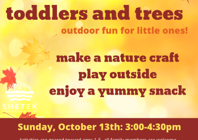 Toddlers and Trees