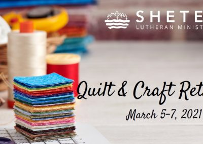 Quilting and Crafting Retreat